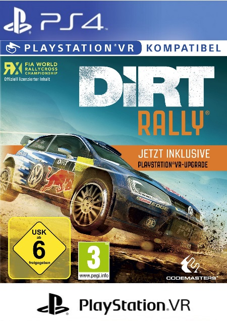 DiRT Rally (VR) - Der Packshot