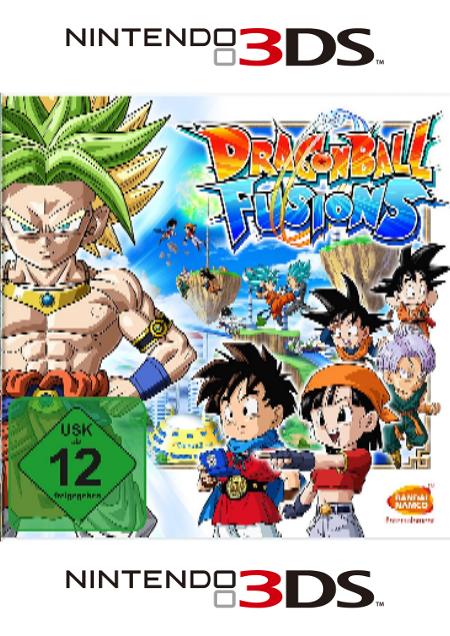Dragon Ball Fusions - Der Packshot