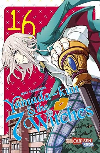 Yamada-kun & the 7 Witches 16 - Das Cover