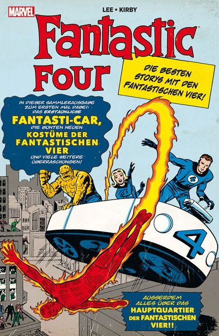 Marvel Klassiker: Fantastic Four - Das Cover
