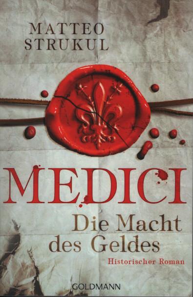 Medici 1: Die Macht des Geldes - Das Cover