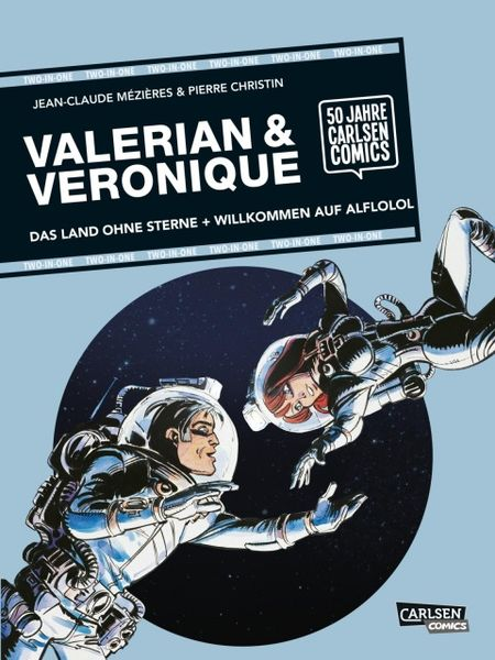 Valerian & Veronique: TWO-IN-ONE - Das Cover