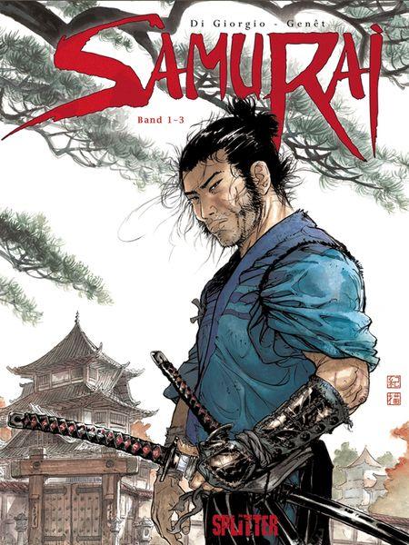 Samurai Gesamtausgabe 1 - Das Cover