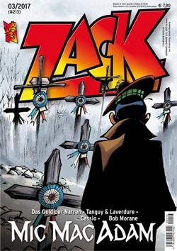Zack 213 - Das Cover
