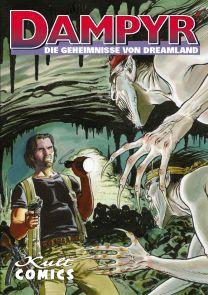 Dampyr 29: Die Geheimnisse von Dreamland - Das Cover