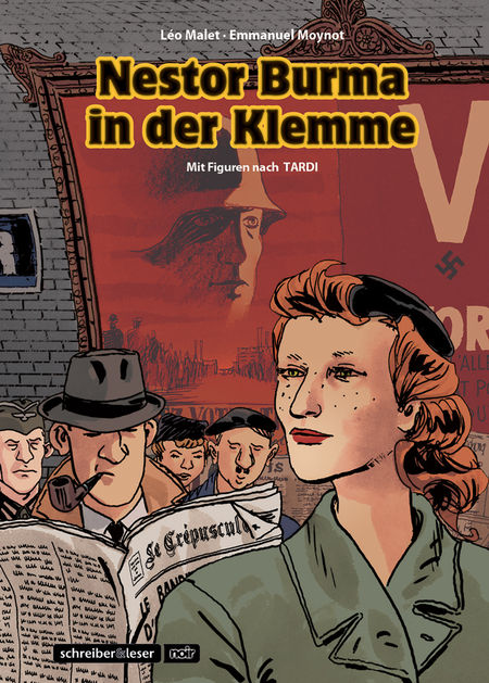 Nestor Burma in der Klemme - Das Cover
