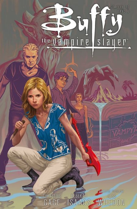Buffy – The Vampire Slayer (Staffel 10) 6: Steh dazu! - Das Cover