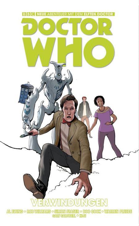 Doctor Who: Der elfte Doctor 3: Verwindungen - Das Cover