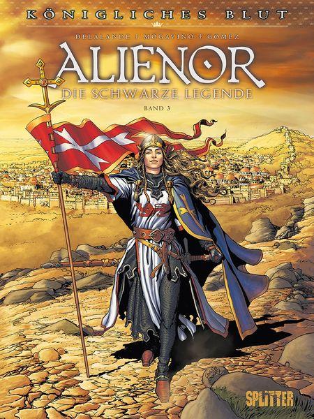 Königliches Blut – Alienor Band 3 - Das Cover