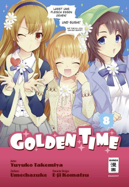 Golden Time 8 - Das Cover