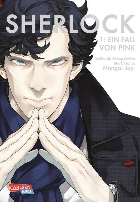 Sherlock 1: Ein Fall von Pink - Das Cover