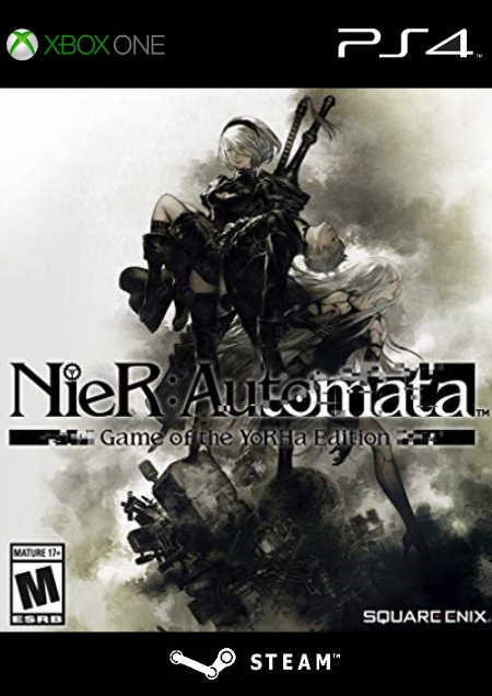 NieR: Automata - Game of the YoRHa-Edition - Der Packshot