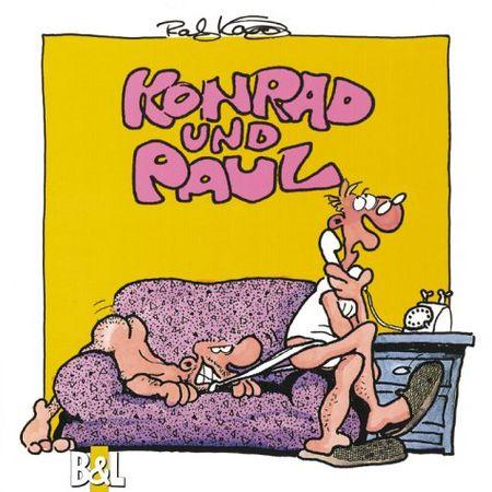 Konrad & Paul - Big Dick - Das Cover