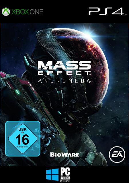 Mass Effect: Andromeda - Der Packshot