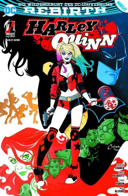 Harley Quinn (Rebirth) 1: Zombie-Attacke - Das Cover