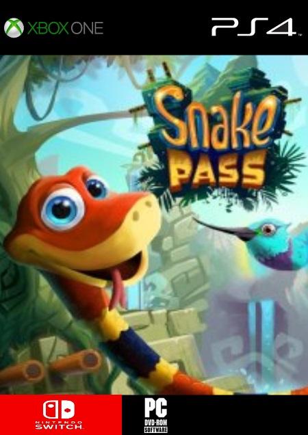 Snake Pass - Der Packshot