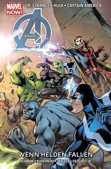 Marvel Now: Avengers 7 - Wenn Helden fallen - Das Cover
