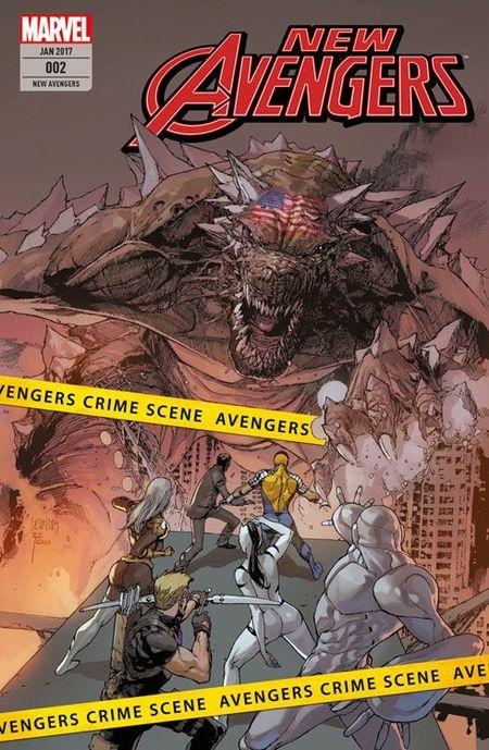 New Avengers 2: Ohne Ausweg - Das Cover