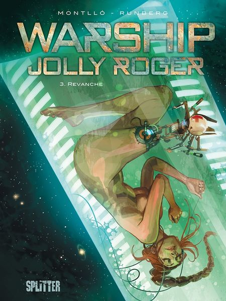 Warship Jolly Roger: Band 3. Revanche - Das Cover