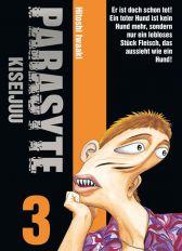 Parasyte - Kiseijuu 3 - Das Cover