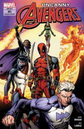 Uncanny Avengers 3: Ultrons Rückkehr - Das Cover