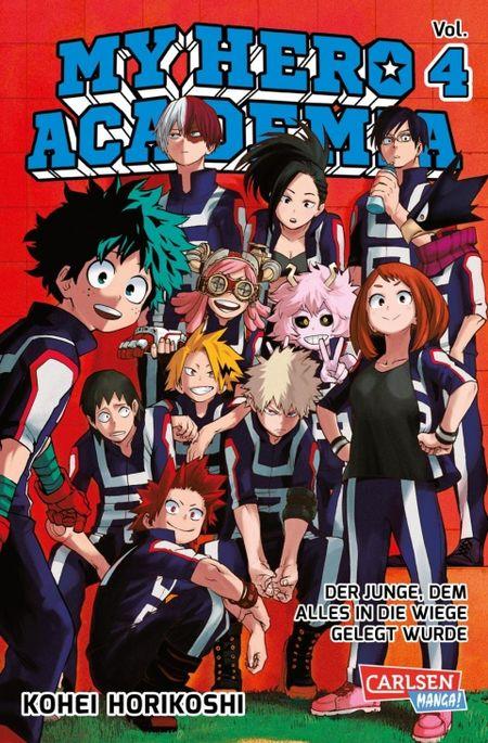 My Hero Academia 4 - Das Cover