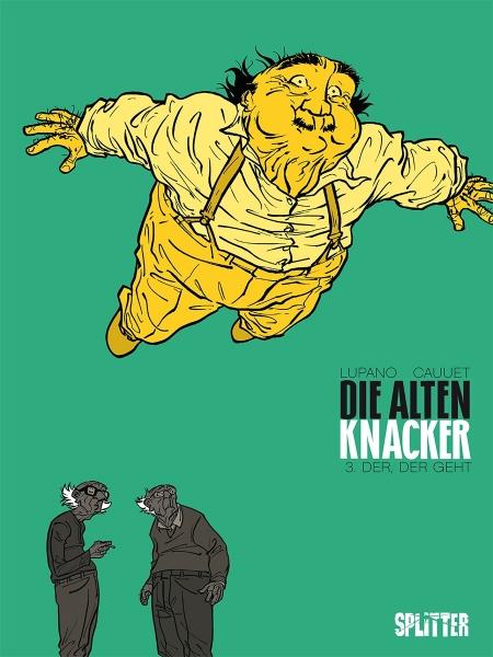 Die alten Knacker Bd. 3 - Das Cover