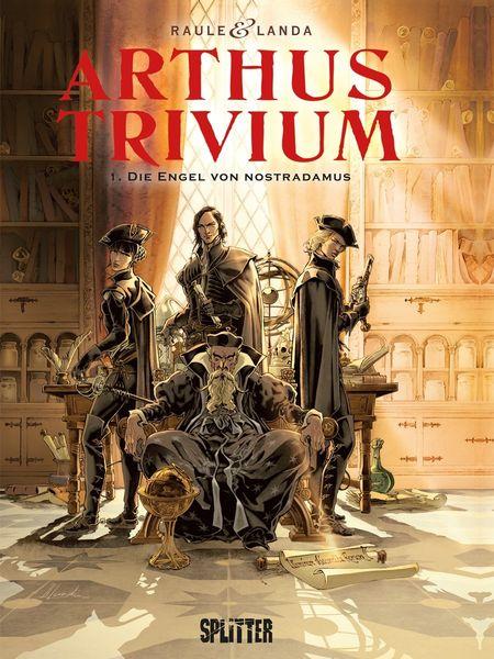 Arthus Trivium Bd. 1: Die Engel von Nostradamus - Das Cover