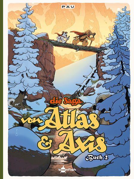 Die Saga von Atlas und Axis Buch 2 - Das Cover