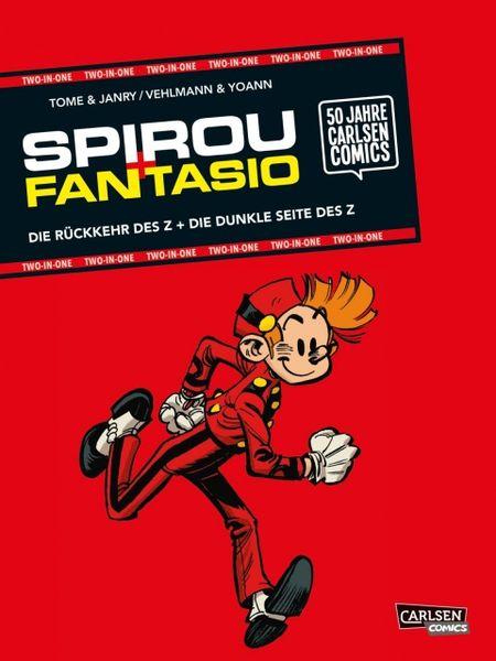 Spirou und Fantasio Two in One - Das Cover