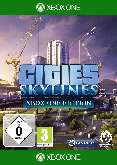 Cities: Skylines - Xbox One Edition - Der Packshot