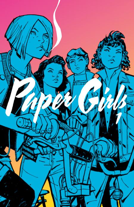 Paper Girls 1 - Das Cover