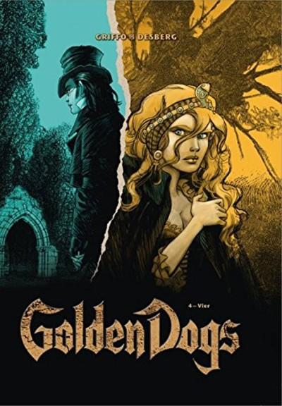 Golden Dogs – Die Meisterdiebe von London 4: Vier - Das Cover