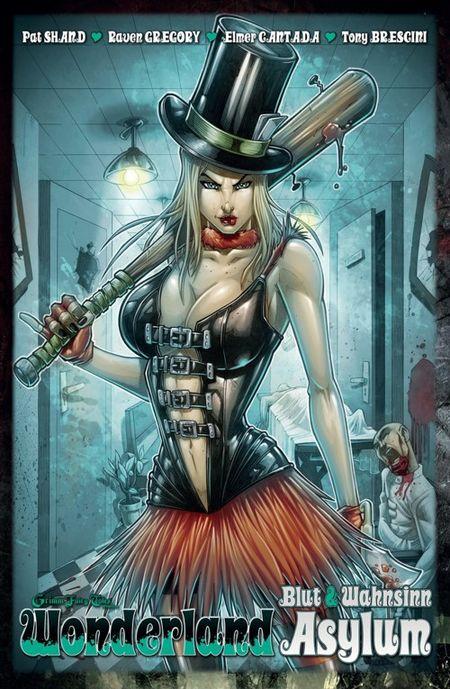Wonderland 12: Asylum – Blut & Wahnsinn  - Das Cover