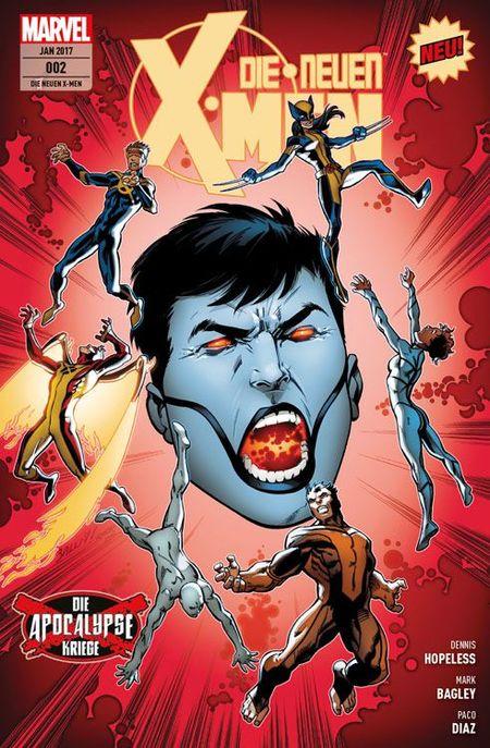 Die neuen X-Men 2 - Das Cover