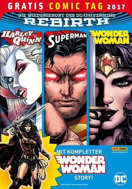 DC Rebirth – Gratis Comic Tag 2017 - Das Cover