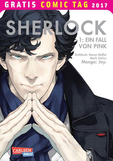 Sherlock – Gratis Comic Tag 2017 - Das Cover