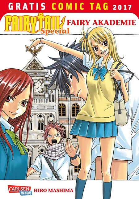 Fairytail Special – Fairy Academy – Gratis Comic Tag 2017 - Das Cover
