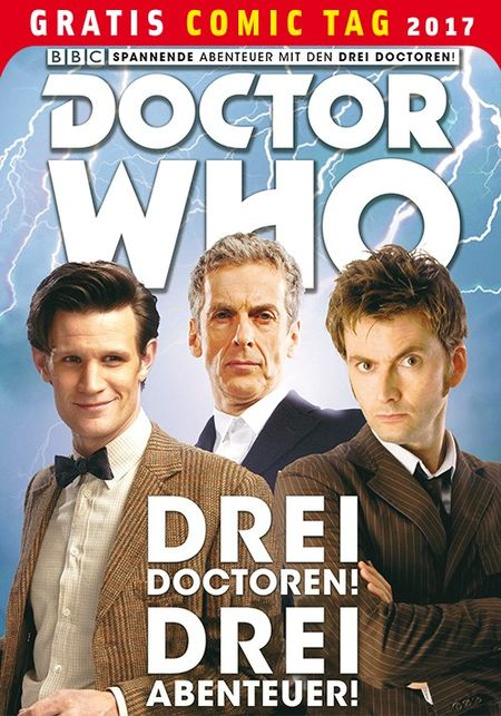 Doctor Who – Gratis Comic Tag 2017 - Das Cover