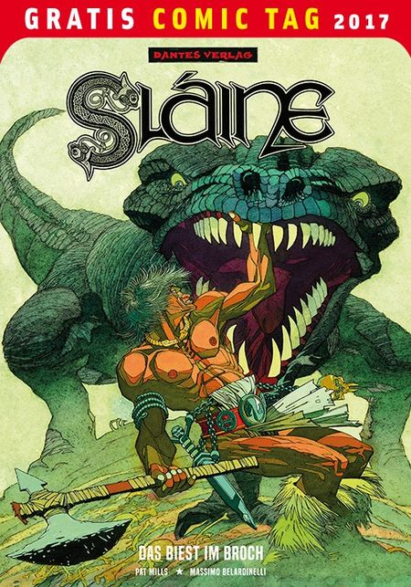 Slaine – Gratis Comic Tag 2017 - Das Cover