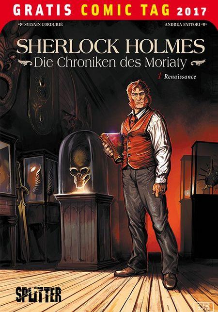Sherlock Holmes: Die Chroniken des Moriarty– Gratis Comic Tag 2017 - Das Cover