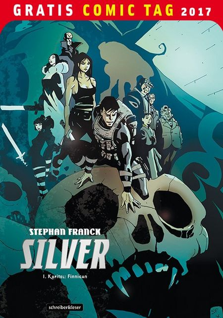 Silver – Gratis Comic Tag 2017 - Das Cover