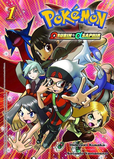 Pokémon: Omega-Rubin und Alpha-Saphir 1 - Das Cover