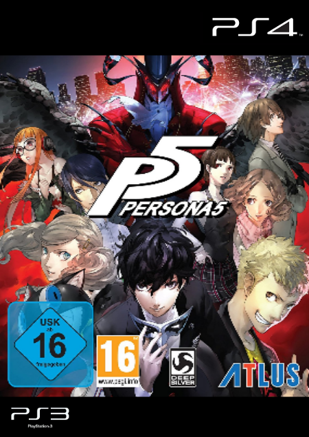 Persona 5 - Der Packshot
