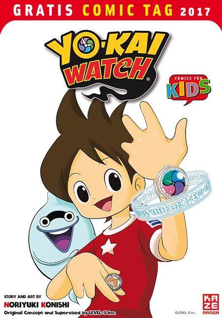 Yo-Kai Watch - Gratis Comic Tag 2017 - Das Cover