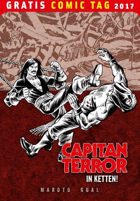 Capitan Terror - Gratis Comic Tag 2017 - Das Cover