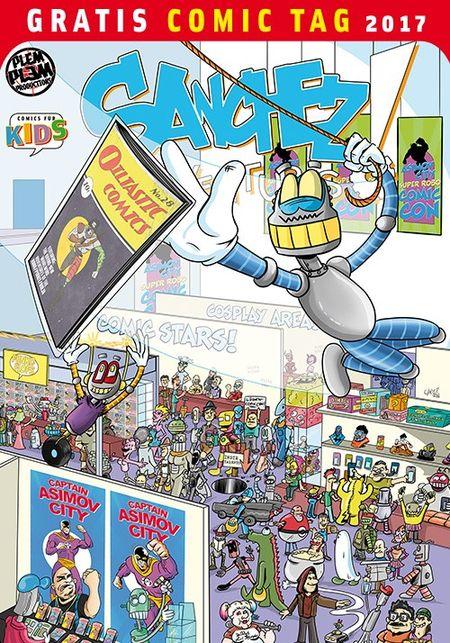 Sanchez Adventures - Gratis Comic Tag 2017 - Das Cover