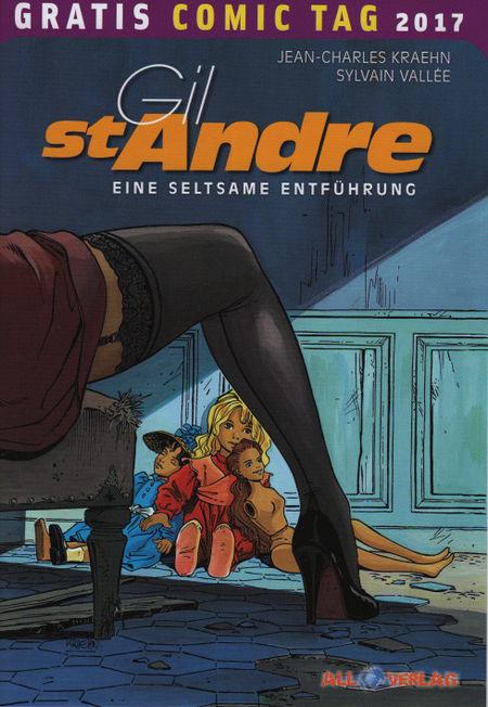 Gil St André: Eine seltsame Entführung - Gratis Comic Tag 2017 - Das Cover