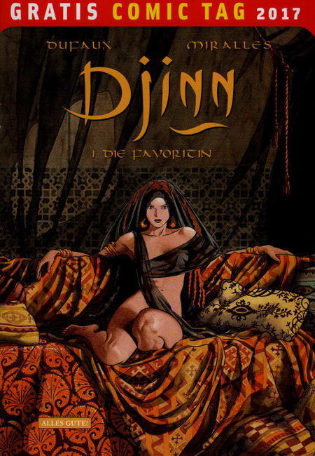 Djinn 1: Die Favoritin - Gratis Comic Tag 2017 - Das Cover