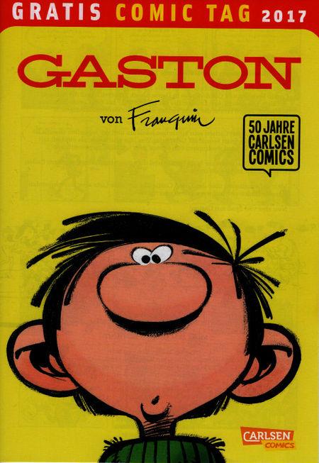 Gaston von Franquin - Gratis Comic Tag 2017 - Das Cover